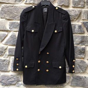 Liz Claiborne Classic Double Breasted Wool Blazer